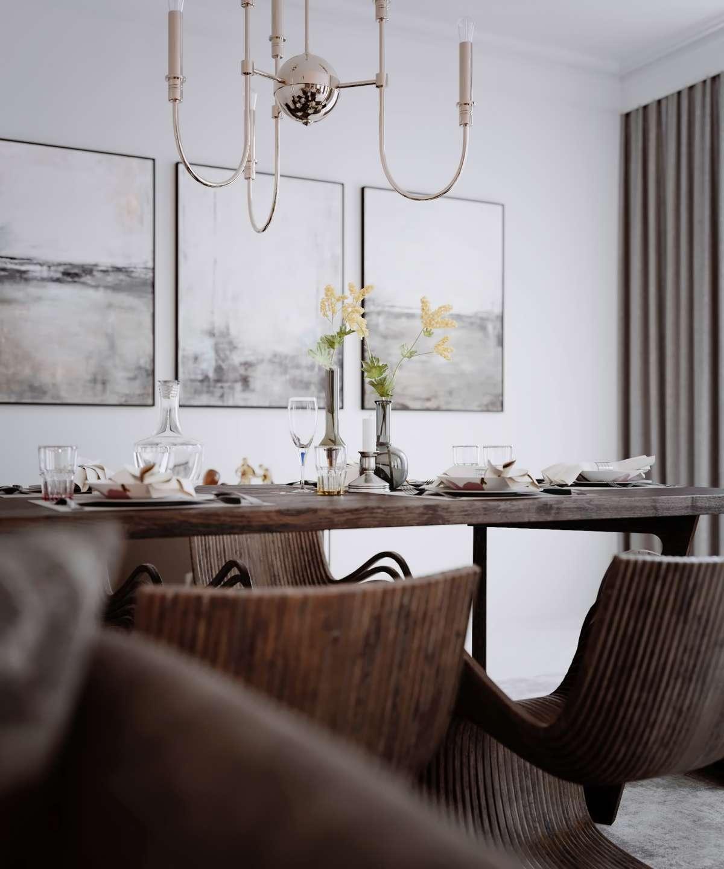3d visuals london dining room