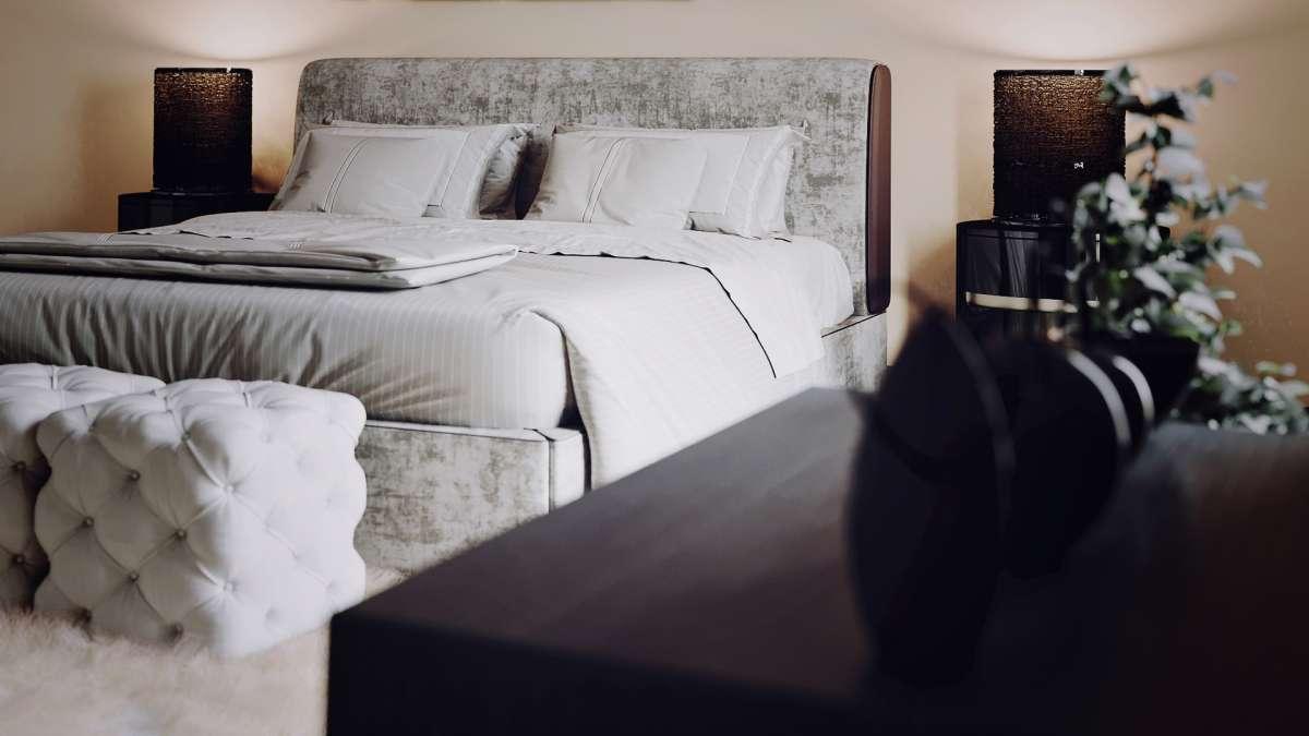 architectural cgi london bedroom