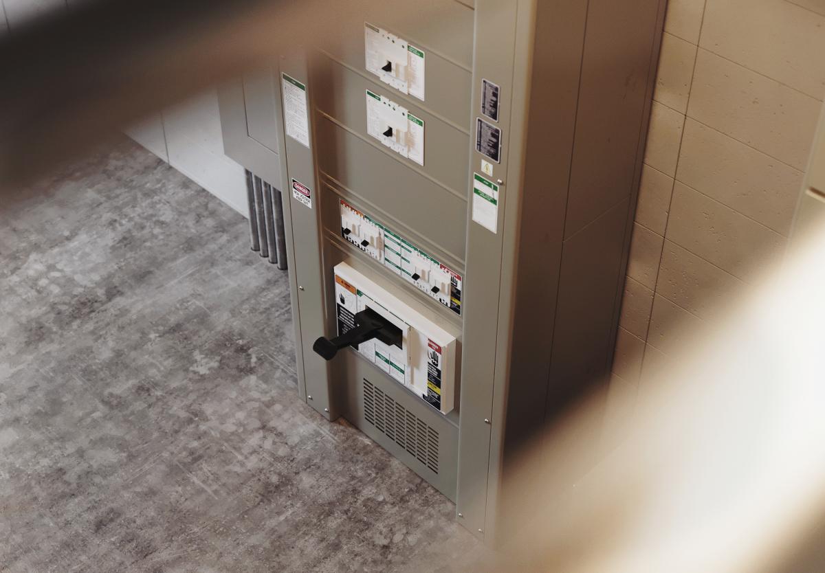 power room 3d render