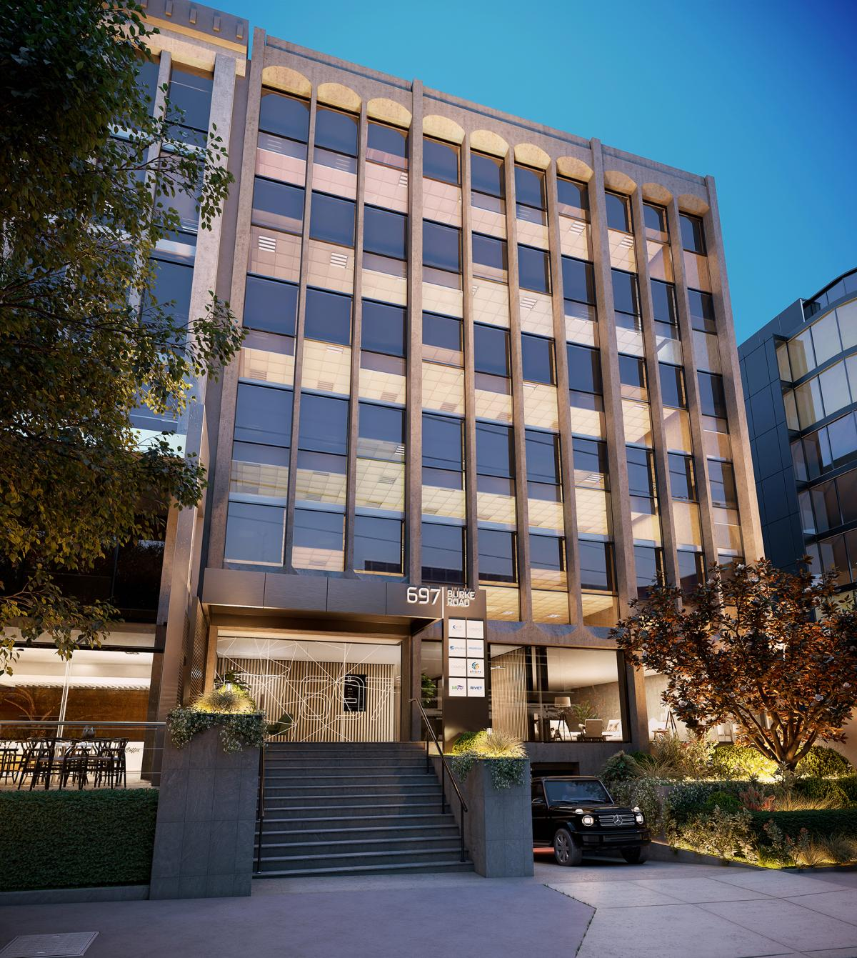 Photo realistic offices 3D rendering Australia