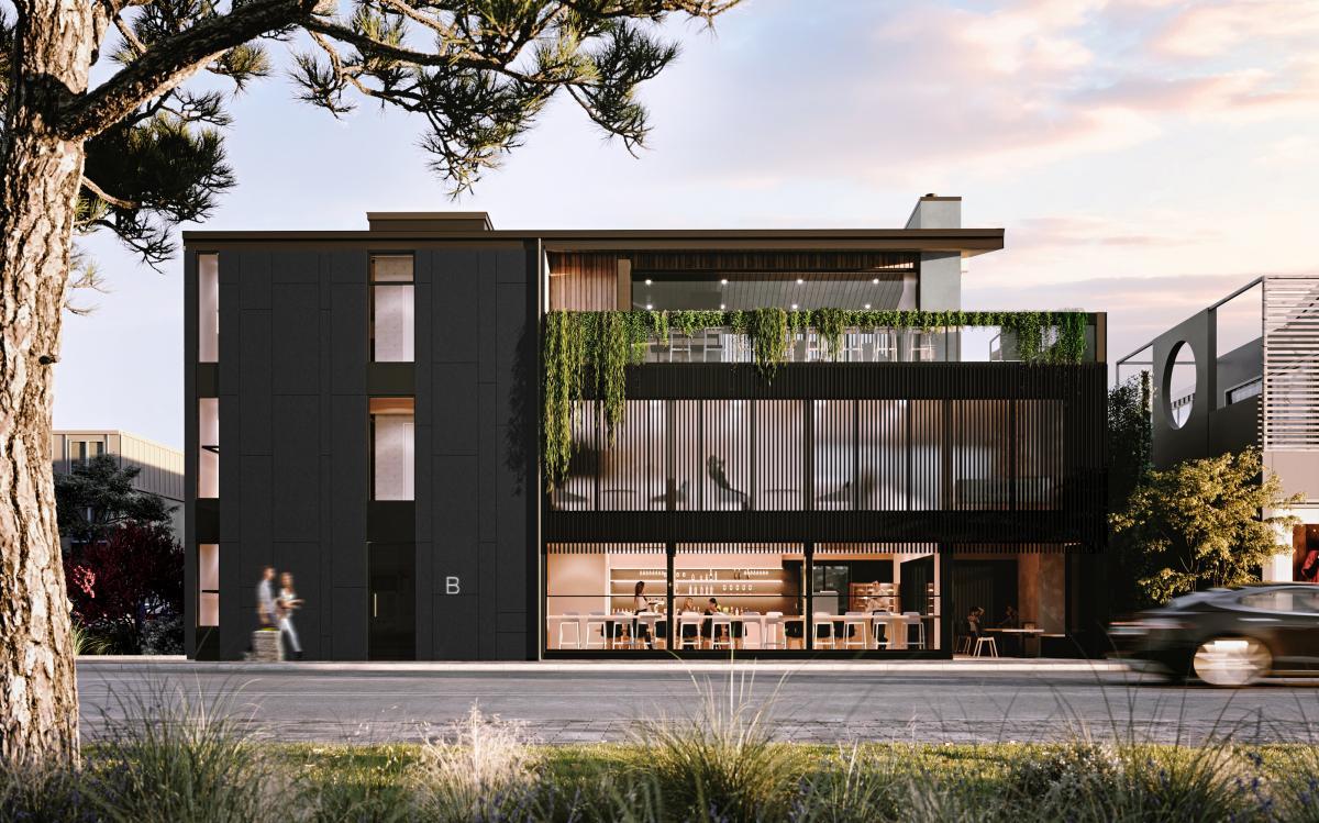 Boutique hotel 3d renderings in Wanaka, Australia