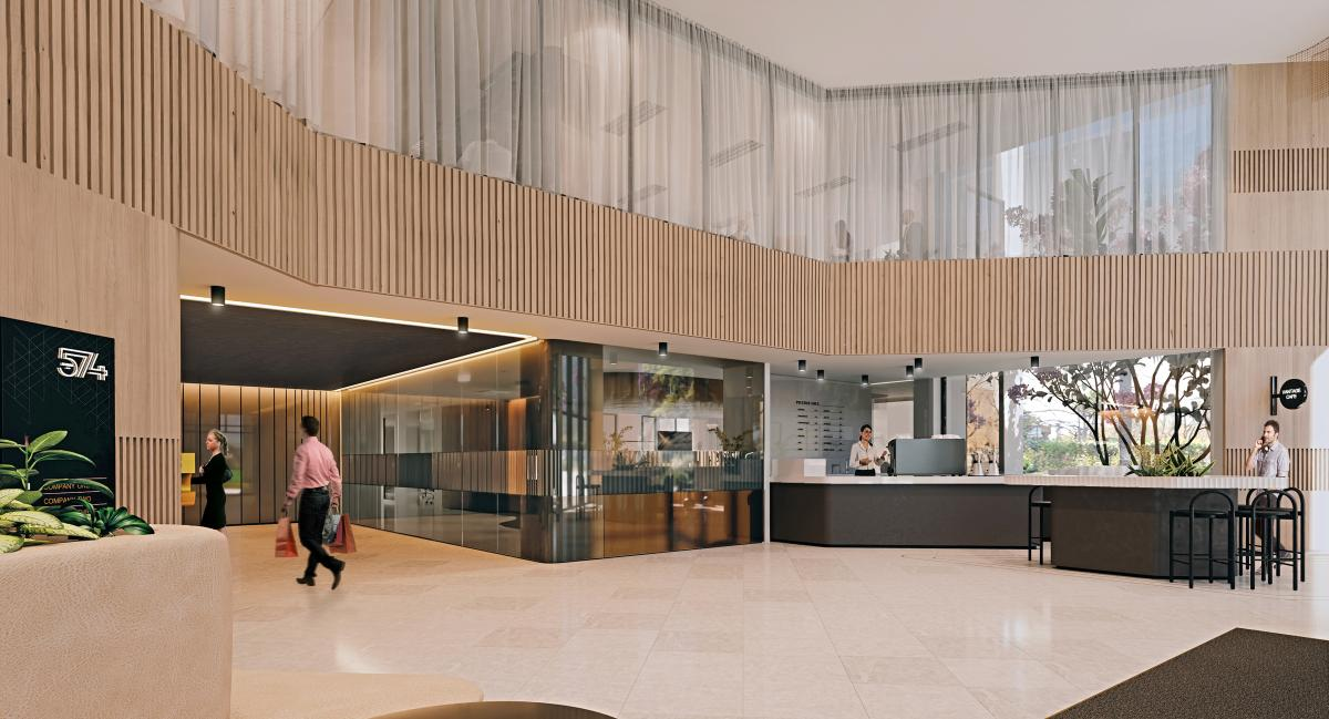 Lobby 3d rendering in Australia