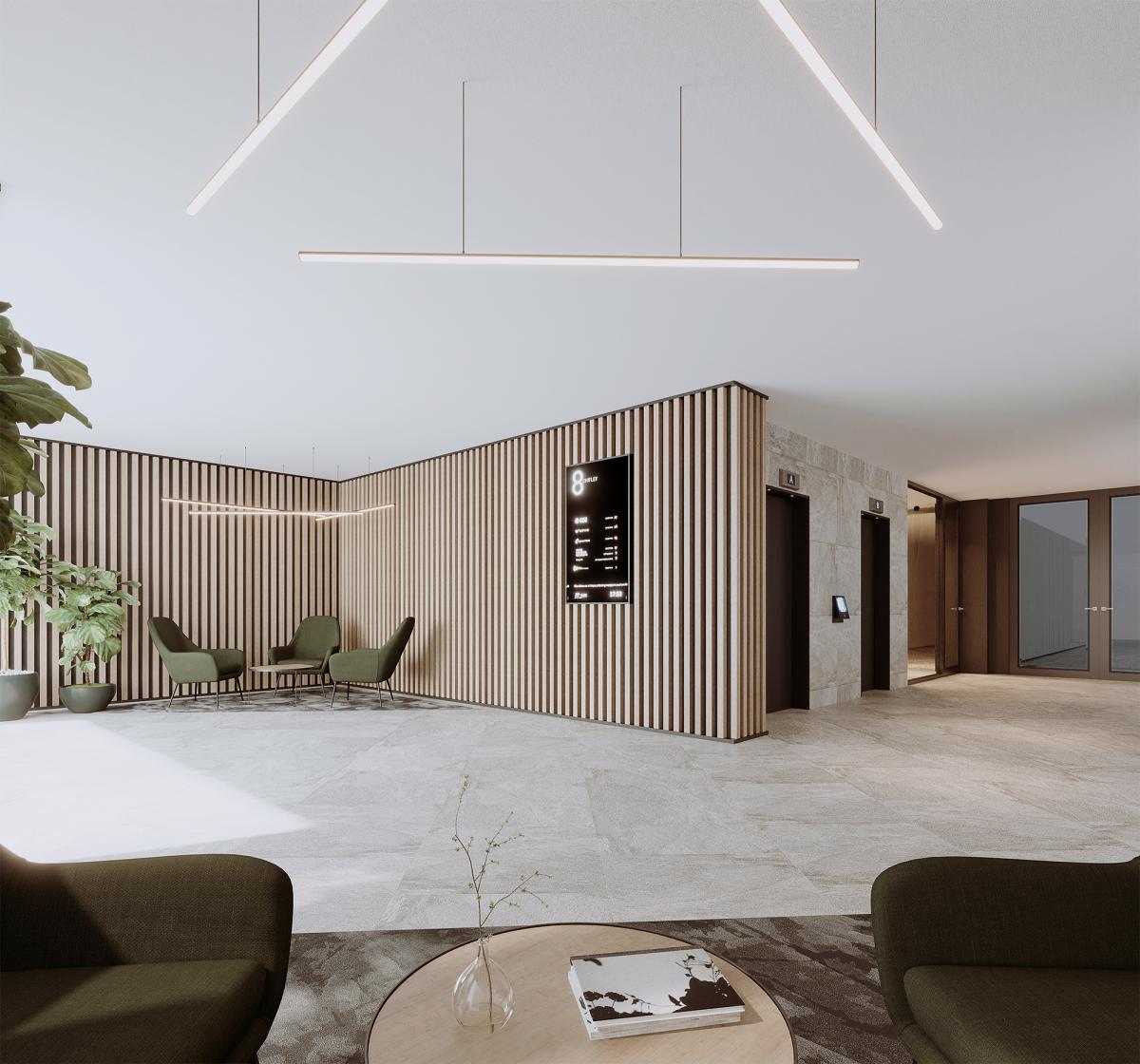 lobby interior 3d rendering Melbourne