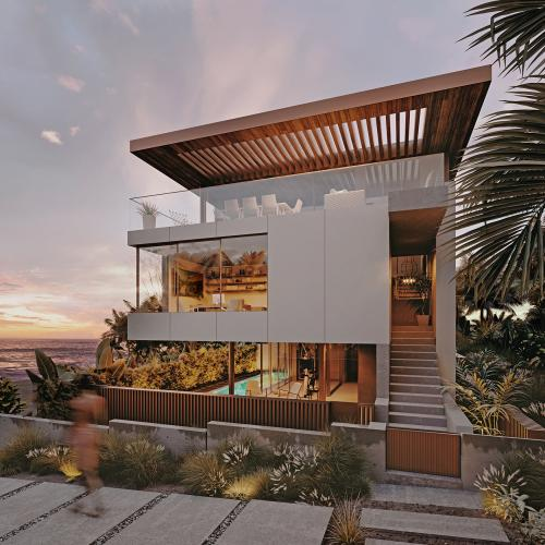 Hermosa California rendering